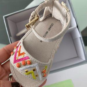 Stuart Weitzman Baby Sandals